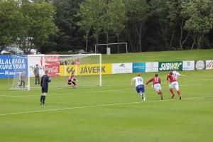 Eyþór Helgi Birgisson Converts a Penalty vs Selfoss